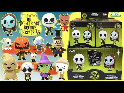 Opening Nightmare Before Christmas Mystery Minis Funko Pop