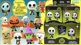 Tim Burton's Nightmare Before Christmas Mystery Minis Funko Pop Full Set