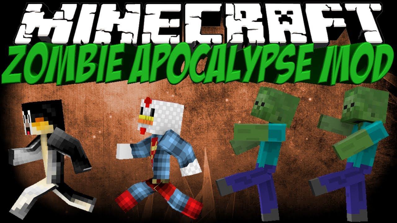 Zombie Apocalypse Mod - 10Minecraft.Net