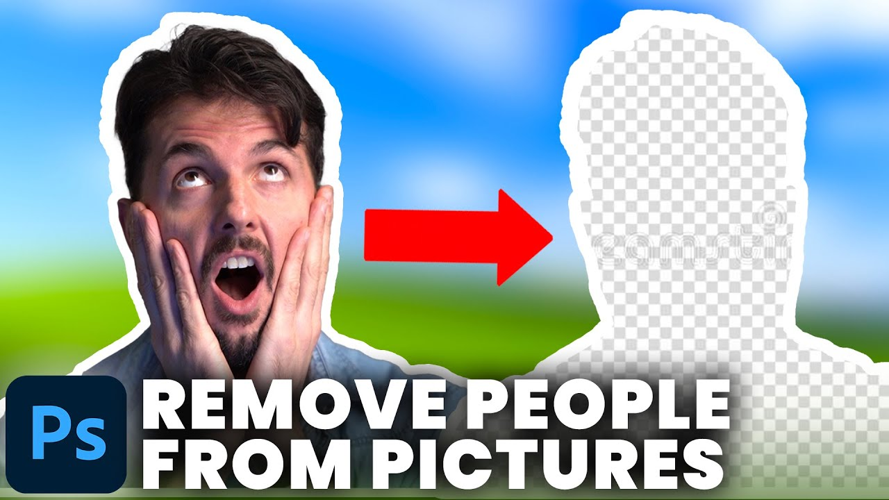 Remove Anything From Your Pictures (Photoshop Tutorial)