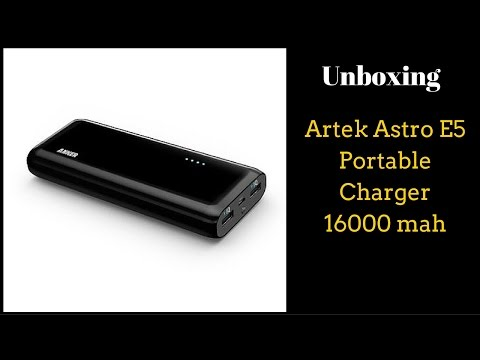 Anker Astro E5 Portable Charger 16000 mah - Unboxing & Review