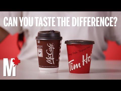 Coffee Taste Test: Tim Hortons Vs. McDonald's
