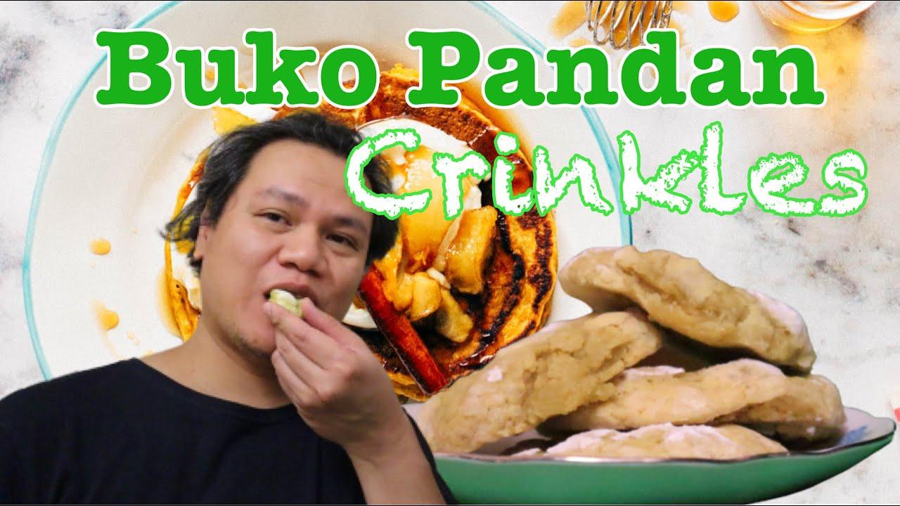 Easy Buko Pandan Crinkles Recipe