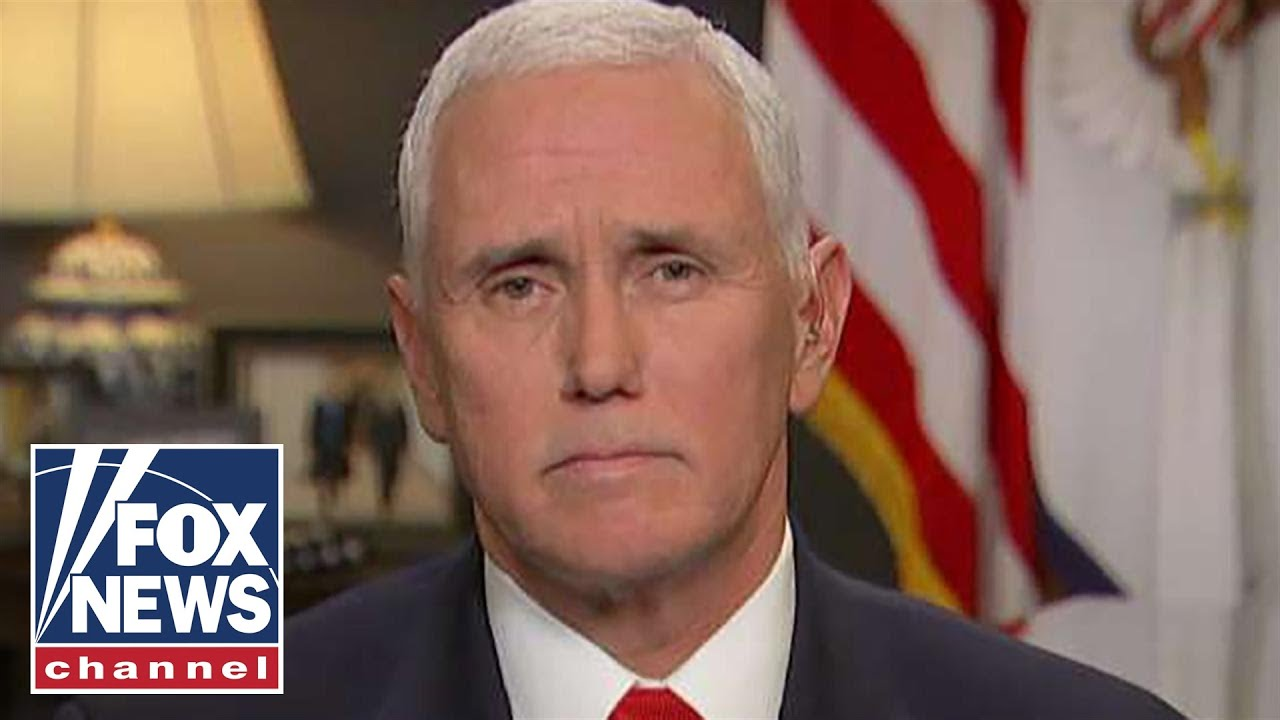Pence talks Iran policy, impeachment in one-on-one with Brian Kilmeade