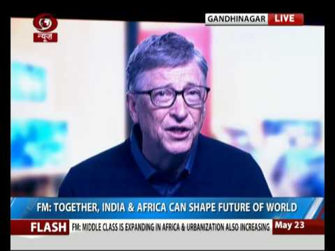 Bill Gates addresses African Development Banks Annual meet