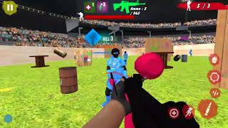 Paintball Arena Combat Shooting