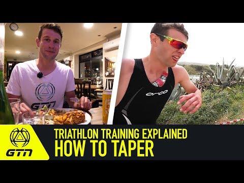 Triathlon Training Explained   How To Taper For Triathlon