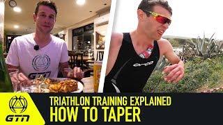 Triathlon Training Explained | H๐w To Taper For Triathlon