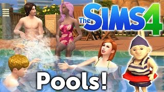 The Sims 4 Update - Pools, Swimwear, Death by Drowning, & New Interactions!