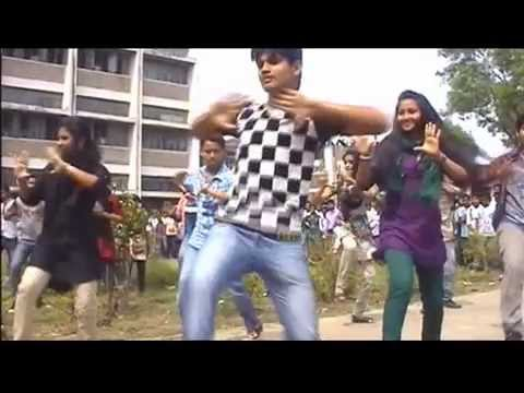 ICC WORLD CUP  T20 Bangladesh 2014   Flash Mob Tangail Polytechnic Institute