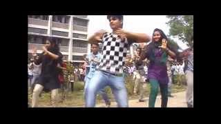 ICC WORLD CUP  T20 Bangladesh 2014   Flash Mob Tangail Polytechnic Institute