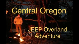 Winter Jeep Car Camping Overland Style  - Snowy Trails, Historic Sites, Campfire Cooking