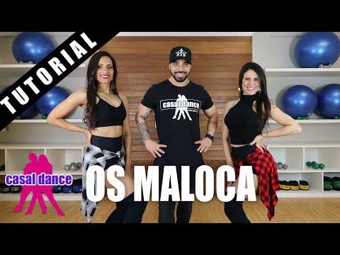 Os Maloca - Perera DJ feat. MC Livinho, MC Davi, MC Brinquedo e MC Pedrinho | Casal Dance TUTORIAL