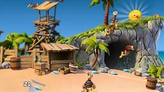 Crazy Chicken Pirates - Moorhuhn series Walkthrough [IOS]