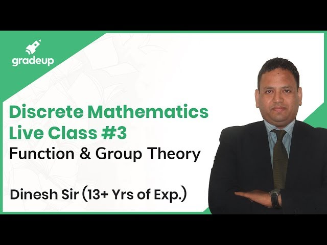Discrete Mathematics for GATE Live Session #3 | Function