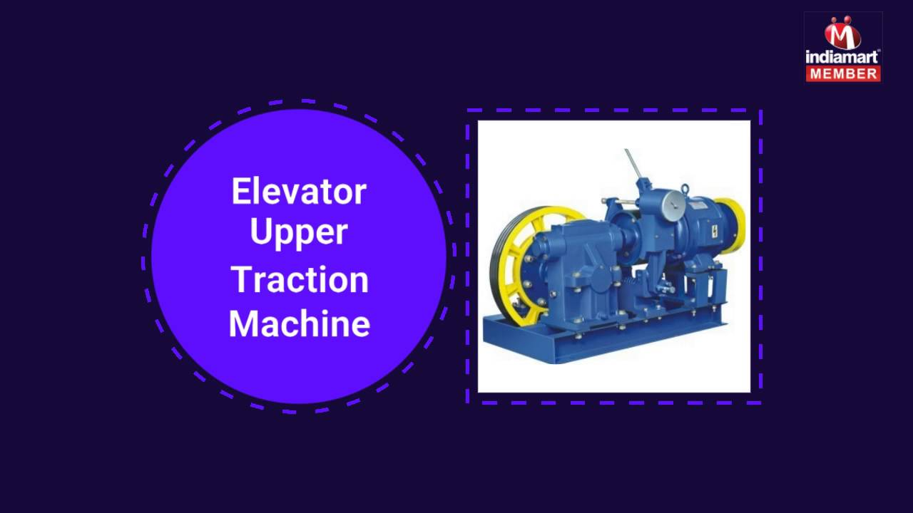 Elevator machine and Spare Parts by Radiant Engineering, Ahmedabad
