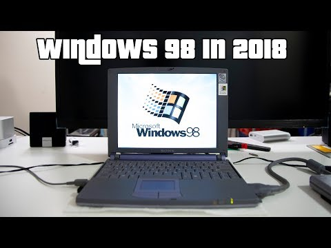 Windows 98 In 2018