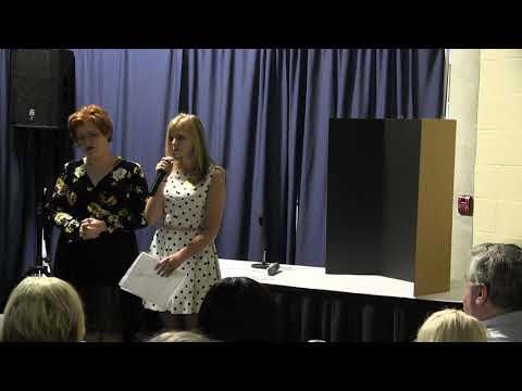 Mollie Johnson and Morgan Cox