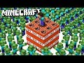 100,000 ZOMBIES vs. TNT HOUSE in Minecraft!