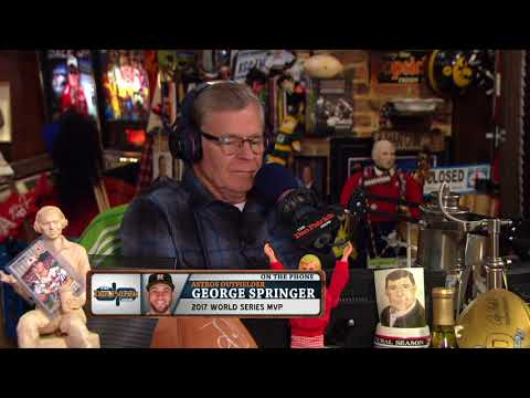 Georger Springer Played Old School Jams to Get Astros Pumped Up for Game 7 | The Dan Patrick Show
