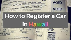 How to Register Your Car in Hawaii - Special Guide for Military
