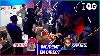 INCIDENT EN DIRECT ENTRE FANS DE BOOBA ET KAARIS
