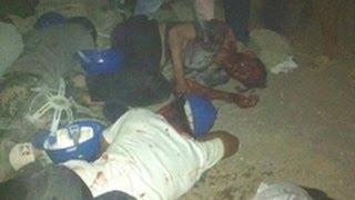 Repeat youtube video Biểu tình bạo loạn ở Vũng Áng, Hà Tĩnh: hơn 20 người chết