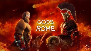 Gods of Rome Боги Арены Gameplay Обзор Первый взгляд Летсплей (Android,APK,iOS) Обучение первые бои
