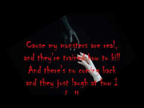 Shinedown~ MONSTERS (Lyrics!!)