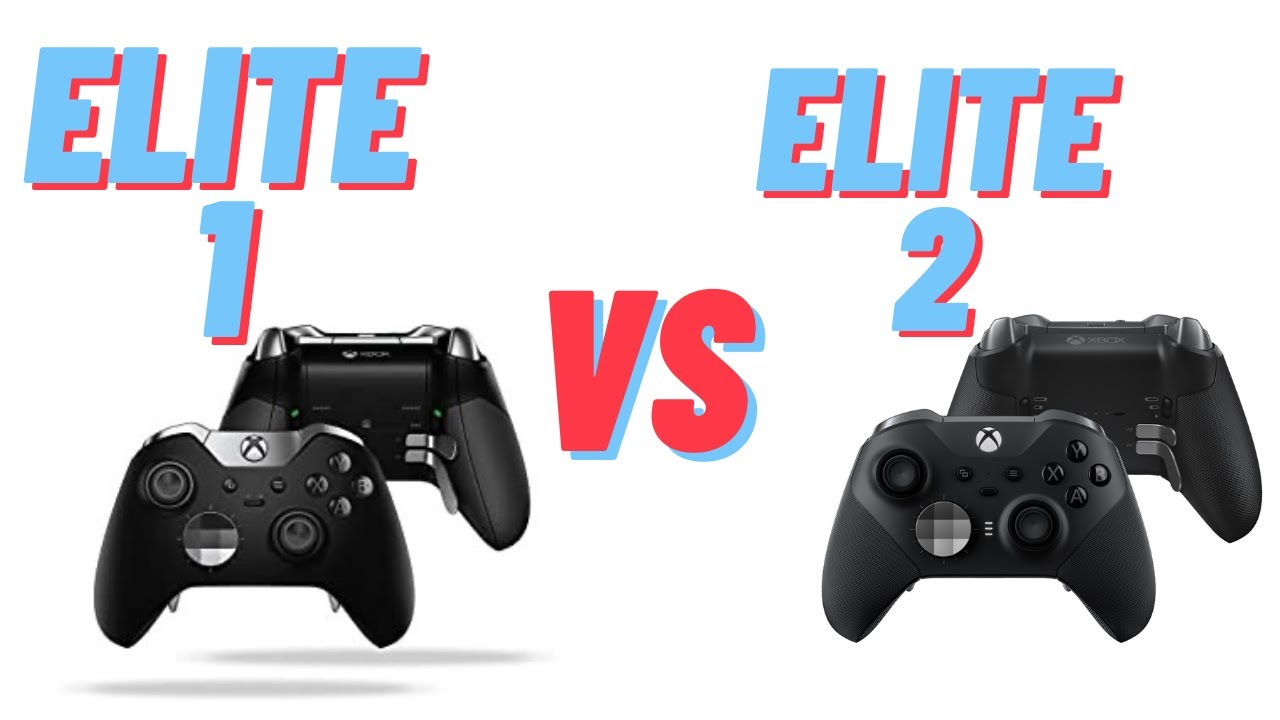 Xbox Elite Series 2 vs Series 1 controller. First impressions and thoughts on each controller.