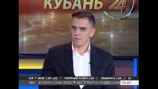 Александр Рагулин, компания «Печати5» в гостях у телеканала «Кубань 24»