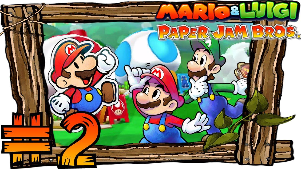 mario and luigi paper jam bros walkthrough