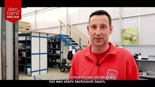 Technieker Raf - Werken bij Den Berk Délice