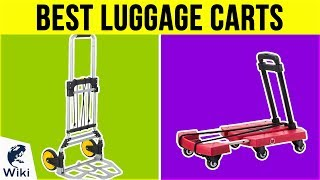 8 Best Luggage Carts 2019