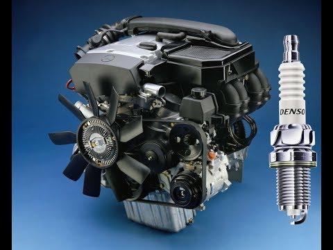 """""""Детальная"""" замена свечей зажигания двигателя M111 (на W202)"""