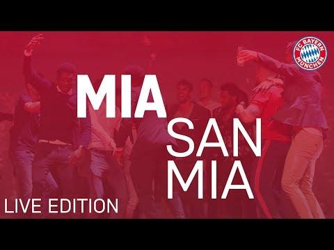 #MiaSanMia Song | Official FC Bayern Music Video | Live Edition