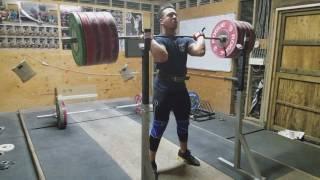 D'Angelo Osorio 240kg/529lb Front Squat