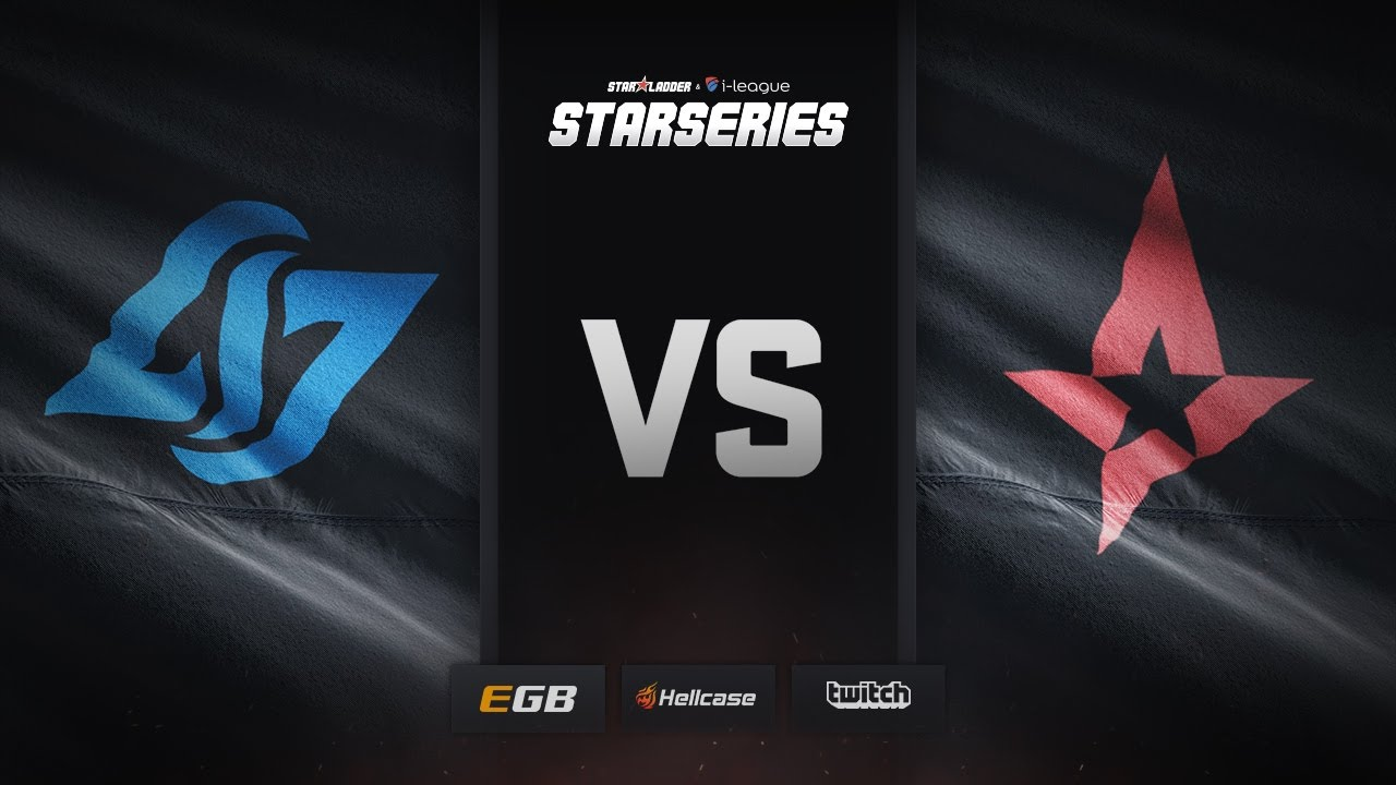 [EN] CLG vs Astralis, map 1 cache, SL i-League StarSeries Season 3 Finals