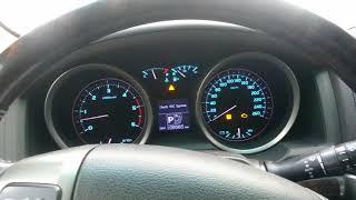 Загорелись индикаторы на панели: 4LO, ESP, инжектор Toyota LC200