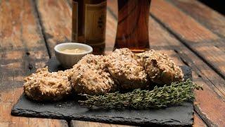 Oktoberfest Pretzel Mustard Chicken Recipe