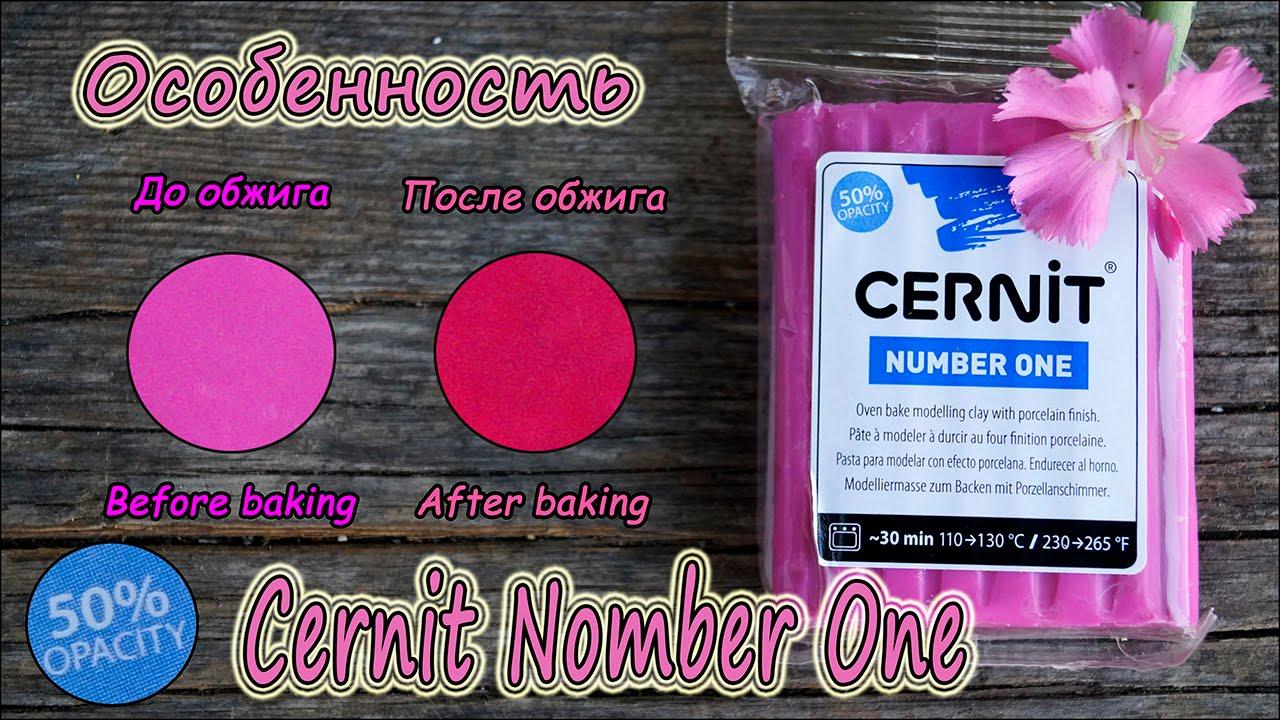 Полимерная глина Cernit и особенности серии Number One ❤ Cernit Number One - 50% opacity