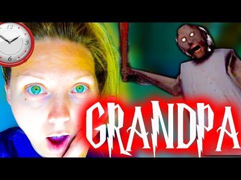 Никогда Не Играй в ГРЕННИ в 3 часа ночи УЖАСНО СТРАШНЫЙ Grandpa