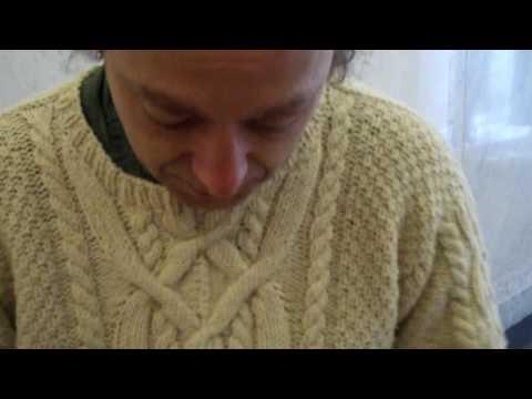 My Irish Fishermans Sweater