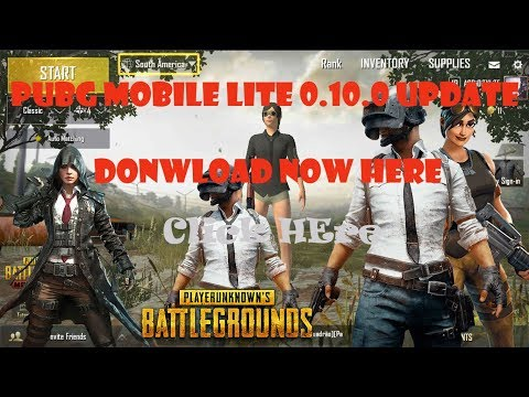 PUBG Mobile Lite 0 10 0 Download Link   How To Download PUBG