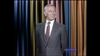 Johnny Carson Discusses Ronald Regan's International Plans Involving Ex-Presidents