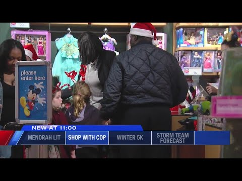- CNY Cops and Firefighters Take Children Shopping