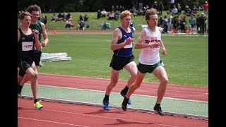 NZSS TF 2018 Senior Boys 800m Heat 3