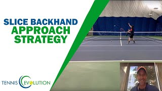 How To Attack The Net - Tennis Approach Strategy