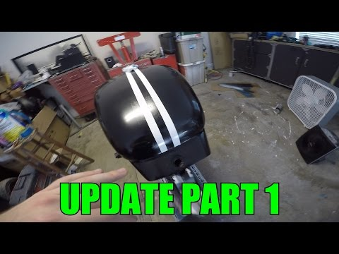 Magna Bobber Project Update - Part 1 - Painting