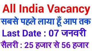 GOVERNMENT JOBS 2017 | ALL INDIA VACANCY | PCS VACANCY 2018